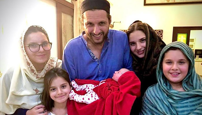 Suggest name for 5th Daughter of Shahid Afridi and win reward