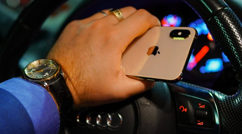 Unlock car with iPhone