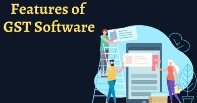 features of GST Software