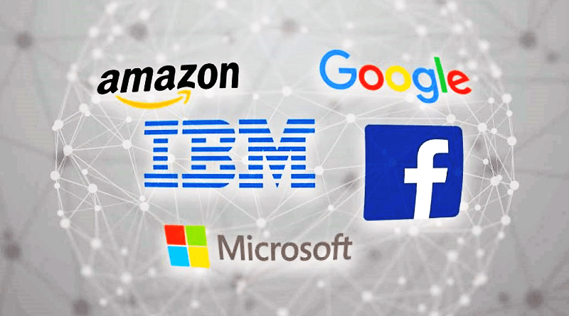 restrictions on employees of google Facebook amazon and Microsoft