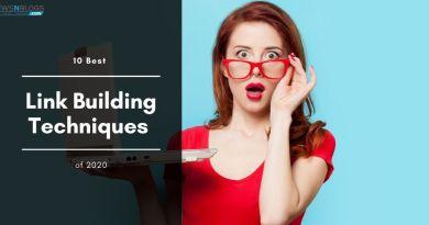 10 Best Link Building Techniques of 2020