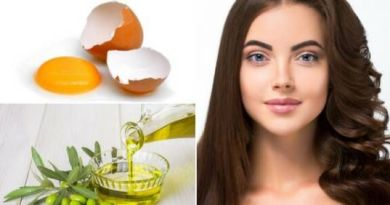 Homemade egg shampoo