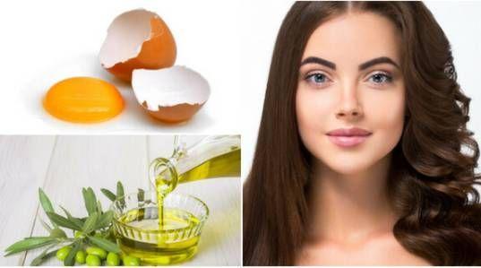 Homemade egg shampoo