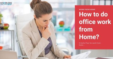 How to do office work from home - 5 useful tips to work from home
