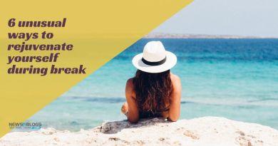 6 unusual ways to rejuvenate yourself during break