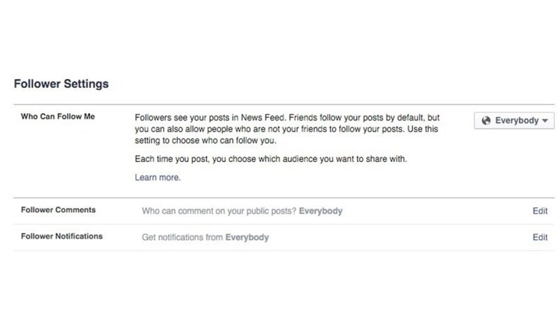 What is the difference between friends and followers on Facebook - Facebook Tips and Tricks