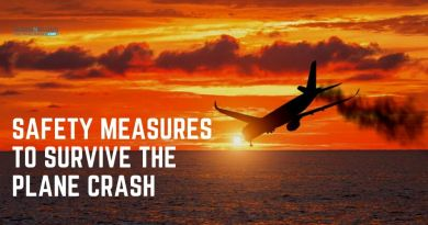 safety measures to survive the plane crash