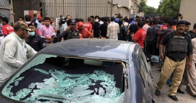 Pakistan Stock Exchange terrorist attack