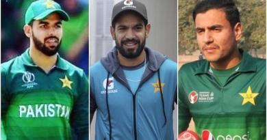 Shadab Khan, Haris Rauf and Haider Ali test Positive for Coronavirus