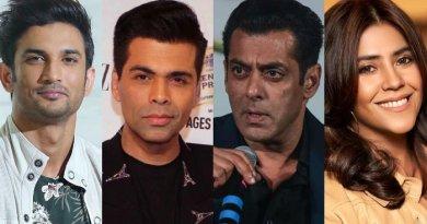 Sushant Singh's suicide case registered against Salman Khan, Ikta Kapoor & Karan Johar