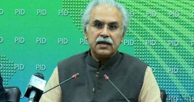 Zafar Mirza resigns as Special Assistant to Prime Minister (SAPM) Imran Khan on Health