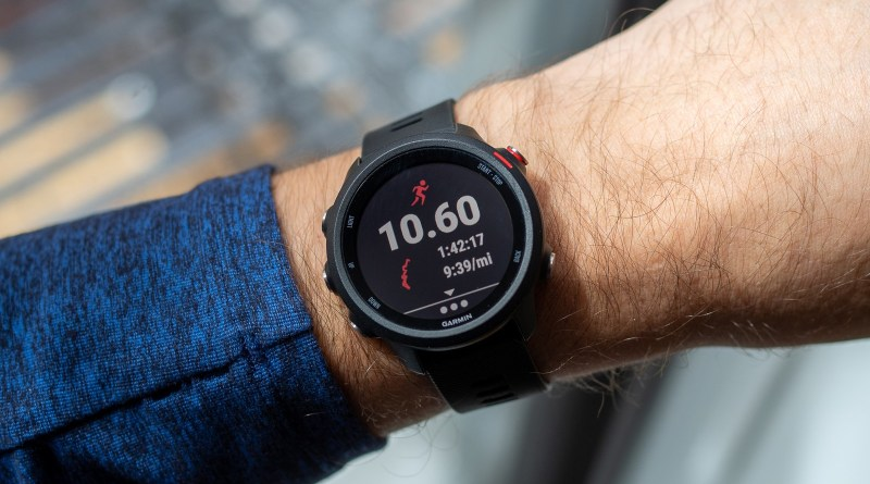 clean smartwatch and fitness tracker