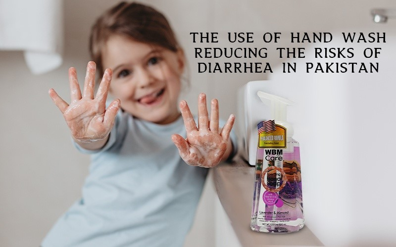 Properly wash your hands with Anti-Bacterial Liquid Hand Wash