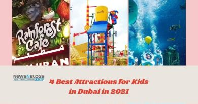 4 Best Attractions for Kids in Dubai in 2021