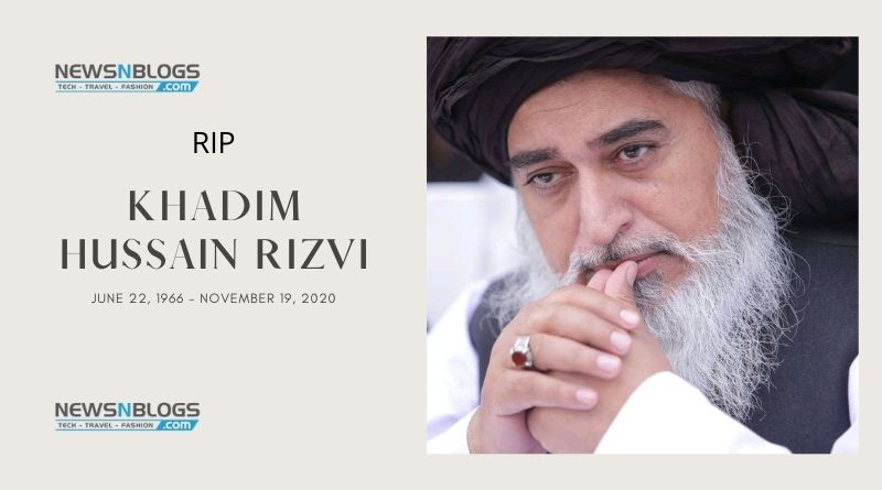 TLP chief Khadim Hussain Rizvi PASSED away