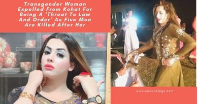 Transgender Woman Expelled From Kohat For Being A 'Threat To Law And Order' As Five Men Are Killed After Her