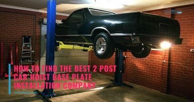 How to Find the Best 2 Post Car Hoist Base Plate Installation Company