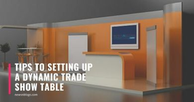 Tips to Setting Up a Dynamic Trade Show Table