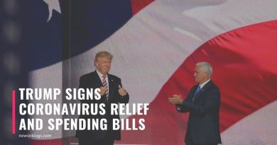 Trump Signs Coronavirus Relief And Spending Bills