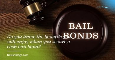 Do you know the benefits you will enjoy when you secure a cash bail bond?