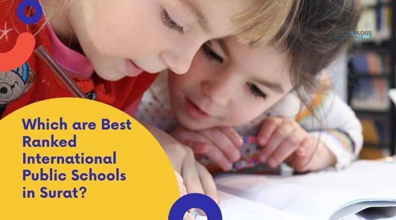 Which are Best Ranked International Public Schools in Surat?