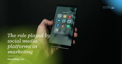 The role played by social media platforms in marketing