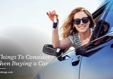 3 Things To Consider When Buying a Car