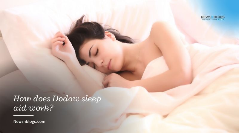 How does Dodow sleep aid work?