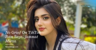 No Grief On TikTok Ban Says, Jannat Mirza