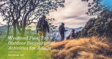 Weekend Fun: Top 5 Outdoor Recreational Activities for Adults