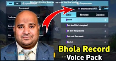 Bhola Record Voice Pack in PUBG Mobile
