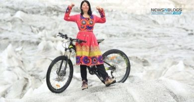 Athlete Samar Khan claims to have reached K2 base on a cycle