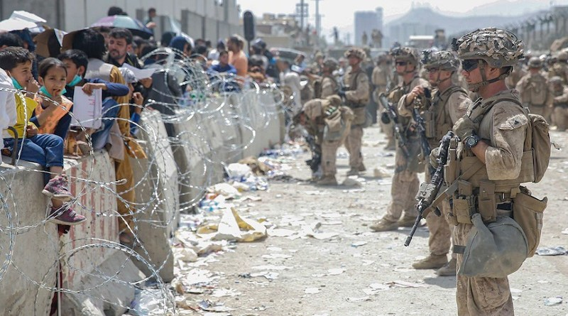 British military says seven Afghans killed in chaos at Kabul airport