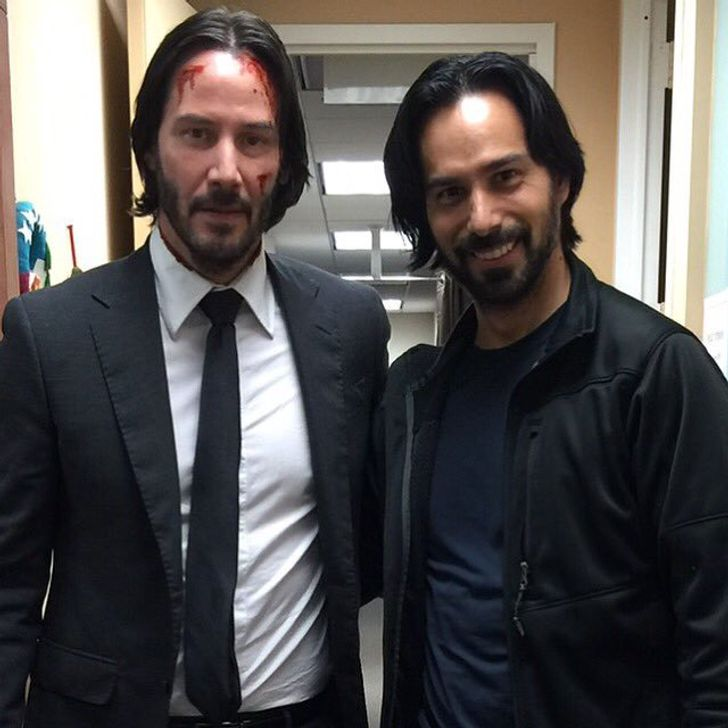 1. Keanu Reeves and Mack Kuhr — John Wick: Chapter 2