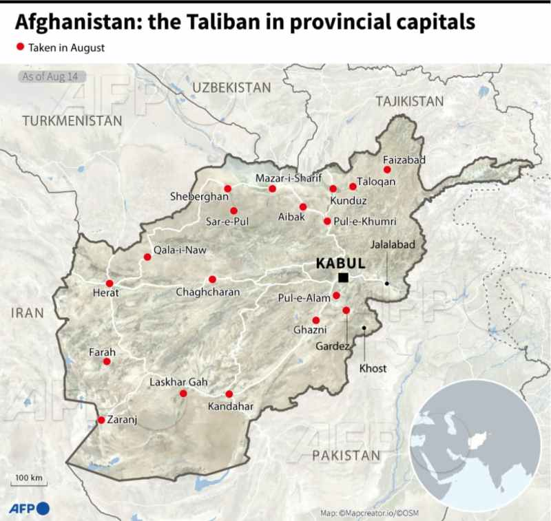 The Taliban-controlled provincial capital