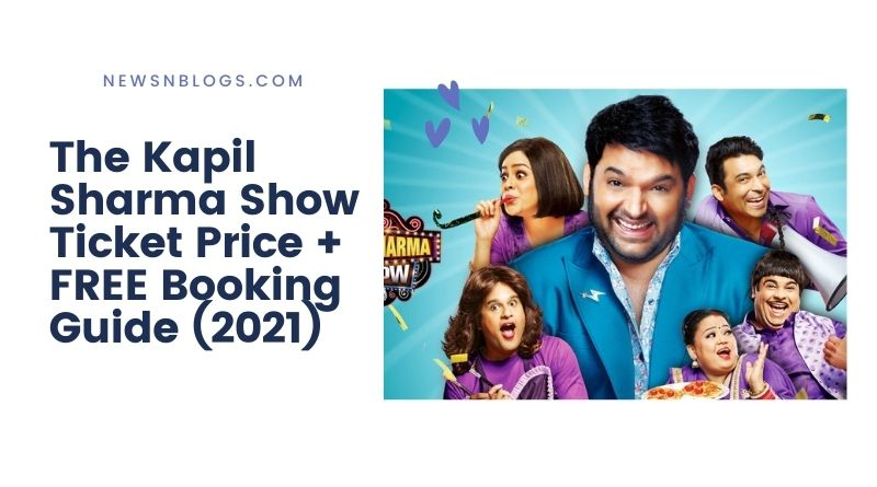 Book The Kapil Sharma Show Ticket