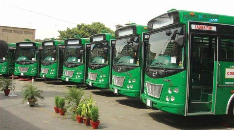 Karachi Green line Buses
