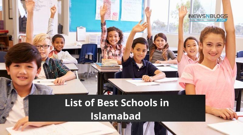 List of top 10 Best schools in Islamabad