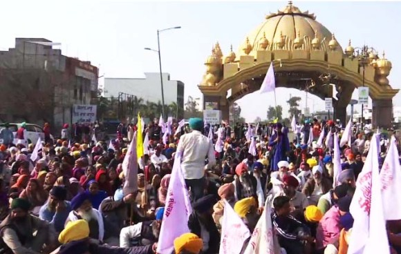 Farmers Protest  The chakka jaam protest was not held in Rajasthan, Delhi, Punjab and Haryana