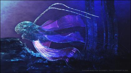 「エウロパの生命想像図」 【出展】http://chomatome.com