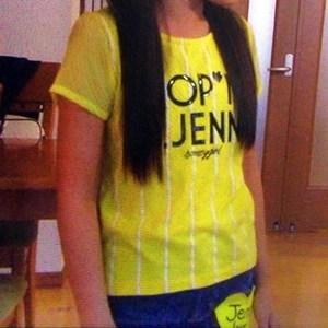 SISTER JENNI シフォン袖Tシャツ