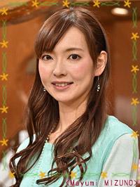 【画像出典:サンデーモーニング公式】水野真裕美アナ