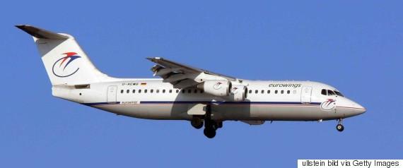 墜落したとみられる飛行機と同型の「BAe146」