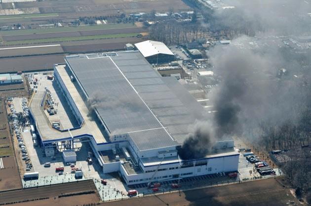 アスクル倉庫火事