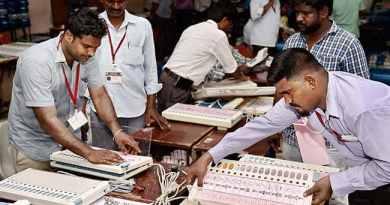 पांच राज्यों के चुनावों की मतगणना जारी