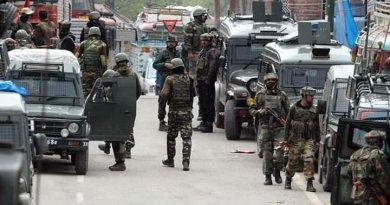 जम्मू-कश्मीर के पुलवामा जिले में सुरक्षा बलों के साथ मुठभेड़ में चार आतंकी मारे गए है।