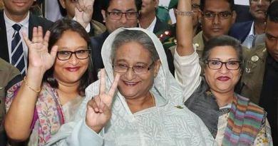 बांग्लादेश की प्रधानमंत्री शेख हसीना चौथी बार देश की कमान संभालेंगी।