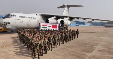 भारत की सेनाएं इस वक्त तीन देशों के साथ चार जगहों पर युद्ध अभ्यास कर रही हैं।