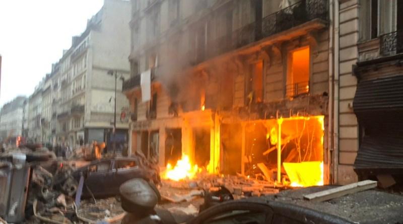 Image result for पेरिस में शनिवार को एक इमारत मेंहुआ विस्फोट हुई इतने लोगो की मौत