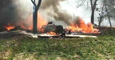 उत्तर प्रदेश में बड़ा विमान हादसा हुआ है। कुशीनगर में वायुसेना का विमान जगुआर क्रैश हो गया।